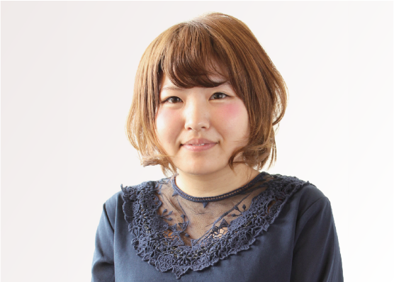 堀 倫子岡山県理容美容専門学校卒 / グラス店 アシスタント